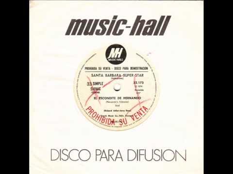 SANTA BARBARA SUPER STAR - Hernando's Hideaway , 70s , Latin , R&B , Funk , Soul , Psych , 1973