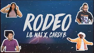 CARDI B IS CRAY CRAY Lil Nas X, Cardi B - Rodeo (Official Audio)| FVO Reaction