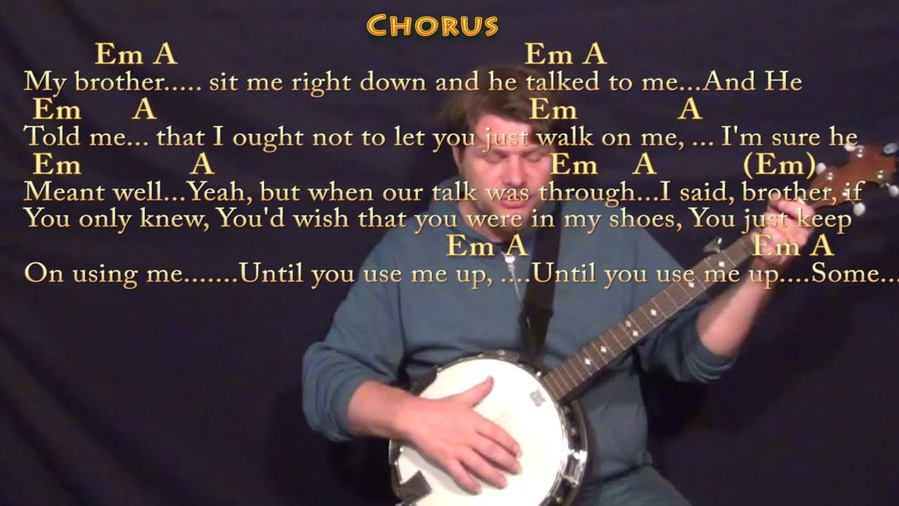 Use me bill withers banjo cover lesson with chordslyrics youtube use me bill withers banjo cover lesson with chordslyrics hexwebz Choice Image