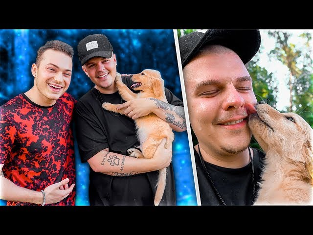 Surprising BEST FRIEND with a NEW PUPPY!