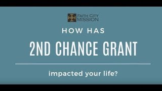 Thank You Second Chance Grant