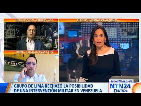 ¿Una intervención militar en Venezuela es la solución a la crisis?