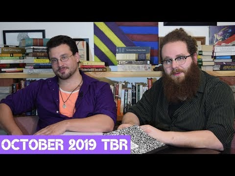October 2019 TBR - Read Along With Stripped Cover Lit