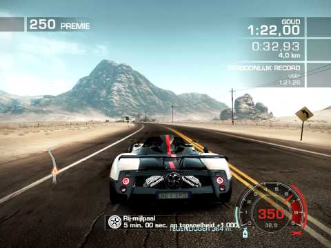 Need For Speed Hot Pursuit 2010 Pagani Zonda Cinque Roadster Youtube
