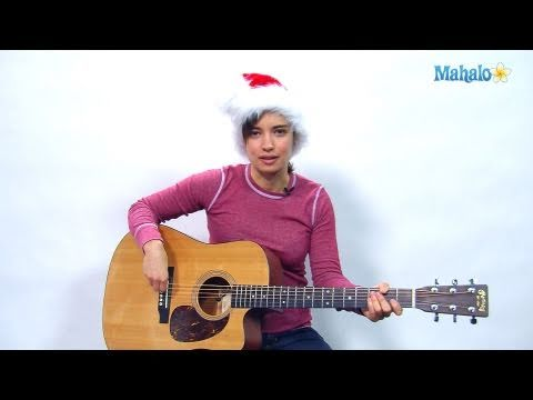 How to Play Here Comes Santa Claus on Guitar