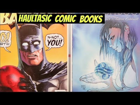 Haultastic Comic Books #1! Half Price books comic book haul!
