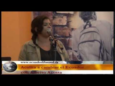 Acolita para cambiar el Ecuador: intervención Nataly Vera
