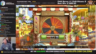 Casino Slots Live - 11/07/19 *EXTRA CHILLI QUADS*