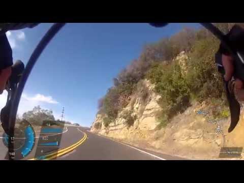 Climbing Latigo Canyon Rd, Malibu CA 05/18/2014