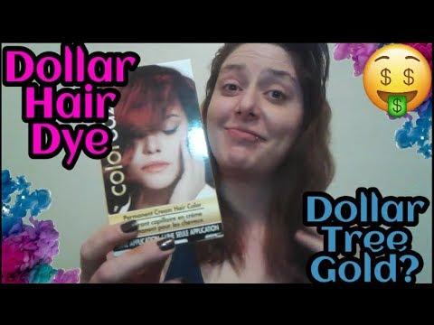 Dollar Hair Dye: Dollar Tree Gold?