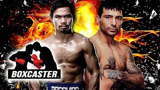 Manny Pacquiao vs. Lucas Matthysse Championship Preview | Boxing Highlights | BOXCASTER