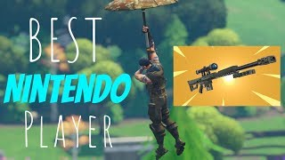 #TSMWiik Fortnite *BEST NINTENDO SWITCH PLAYER* (COME STREAM SNIPE ME) NEW SNIPER GAMEPLAY!