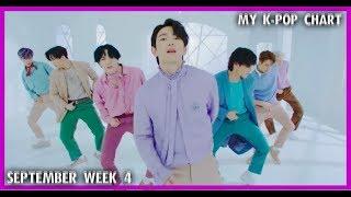 [TOP 40] K-pop Songs Chart    September 2018 (Week 4)