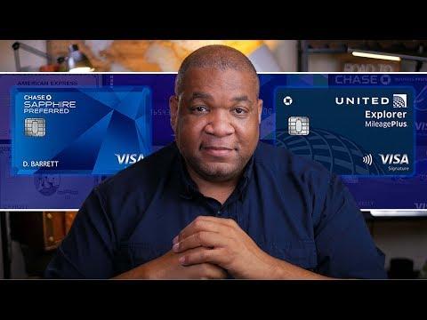 United Explorer Credit Card Vs Chase Sapphire Preferred (2019)