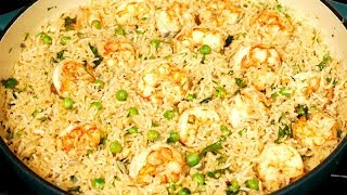 Shrimp and Rice One Pot Meal