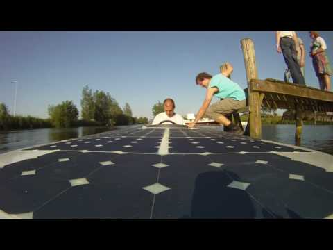 Private Energy Solar boat team takes a solar tour