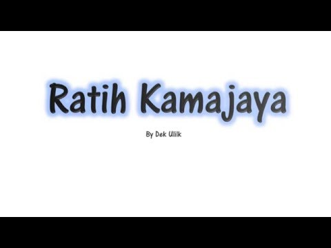 Ratih Kamajaya - Dek Ulik - Lirik - Lagu Bali