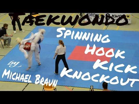 Michael Braun - hard taekwondo knockout at the internationl challenge cup  Nürnberg