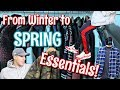 Top 10 Transitional Essentials For Spring - SNEAKERS - APPAREL - DENIM