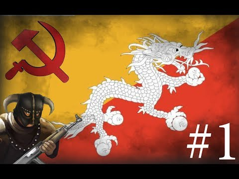 No to zaczynamy! | Bhutan | Hearts of Iron IV #1