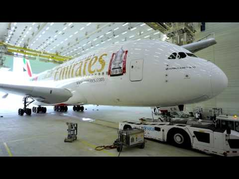 Emirates FA Cup A380 Decal | Timelapse | Emirates Airline