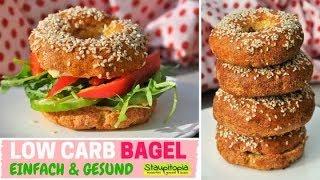 Ein neues Low Carb Brot Rezept für dich: Bagel selber machen ohne Kohlenhydrate | glutenfrei