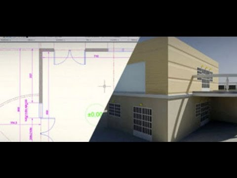 Archicad 17 - Dessiner Un Plan De Maison En 3D Part01 - Youtube