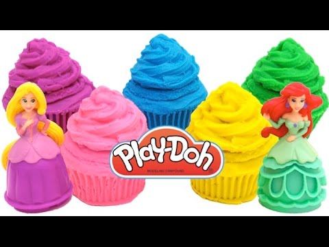 Thumbnail: Best Learning Colors Videos for Children Play Doh Disney Princess Finger Family Nursery Rhymes RL