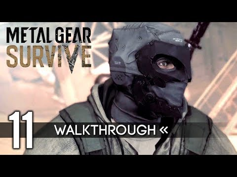 Metal Gear Survive | Gameplay Walkthrough | PART 11 - Archaea Blade Trap / Ending 【Full Game】