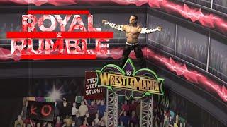 WWE Action Figure Set Up - Royal Rumble