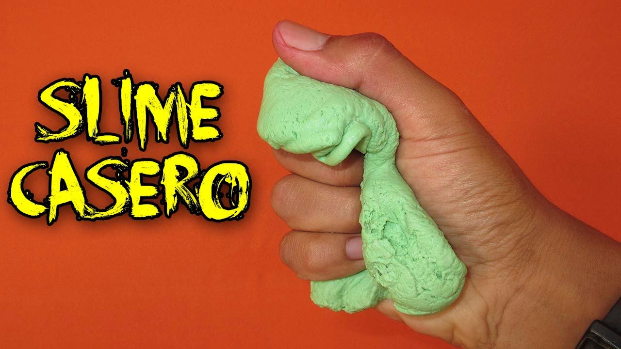 Como hacer slime casero con b rax how to make slime borax - Hacer ambientador casero con suavizante ...
