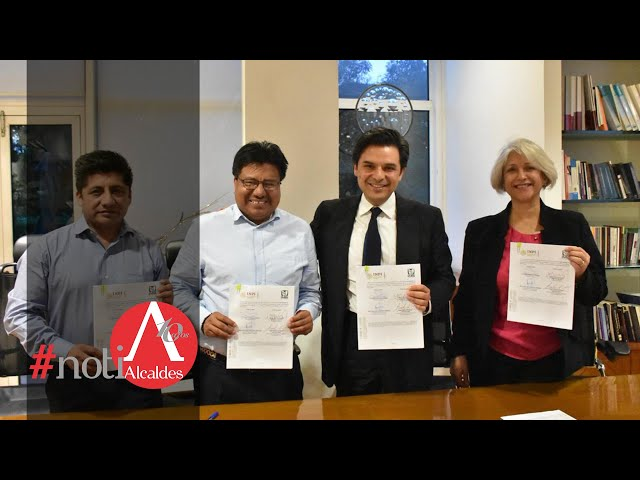 Noti Alcaldes: IMSS e INPI firman convenio para fortalecer salud