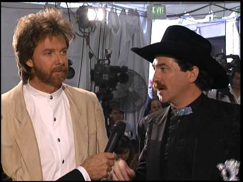 Brooks and Dunn interview with Dick Clark - ACM Awards 1994