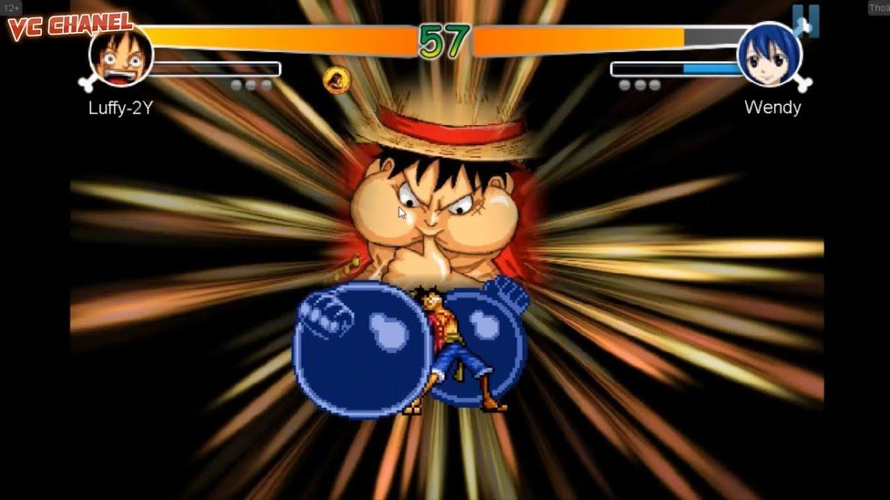 One Piece đại chiến Fairy  Tail l Luffy quá bá đạo l Game Luffy l Game hay vc l vc chanel
