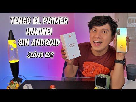Huawei Nova 8: Unboxing en español (llega con HarmonyOS)