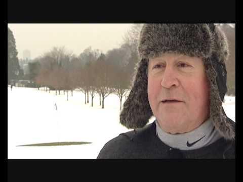 SNOW GOLF at Croham Hurst Golf Club - Jan 2010