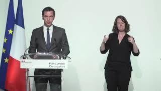 Conférence de presse, 6 avril 2020, par Olivier Véran