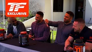 HodgeTwins Ultimate Disgusting Eating Challenge | Marc Lobliner and TwinMuscleWorkout