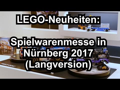 LEGO Neuheiten Sommer 2017 Spielwarenmesse Nürnberg (länger - Toy Fair)