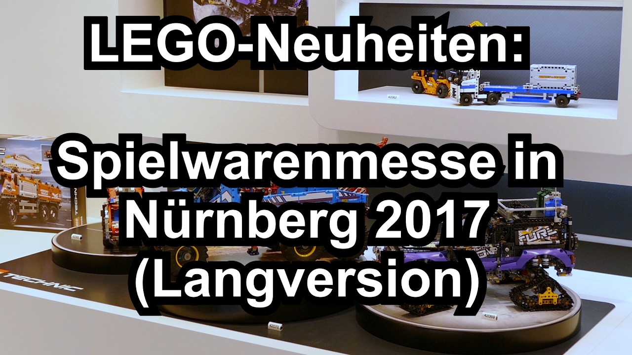 lego neuheiten sommer 2017 spielwarenmesse n rnberg. Black Bedroom Furniture Sets. Home Design Ideas