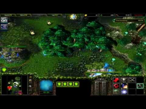 Warcraft 3: Reign of Chaos - Night Elf 07 - Twilight of the Gods