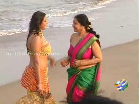 Namitha In Jagan Mohini On Location