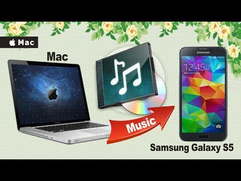 How to Transfer & Sync Music from Mac to Samsung Galaxy S5?