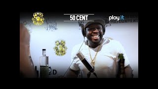 DRINK CHAMPS: 50 Cent (Part 1) Talks Donald Trump, Kanye West for President + more | Episode 21