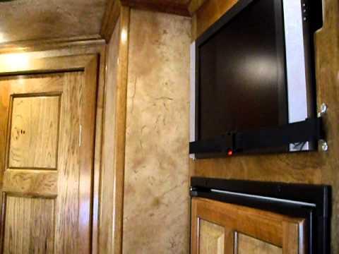 2007 Platinum Coach 38' Cargo trailer with 12' LQ