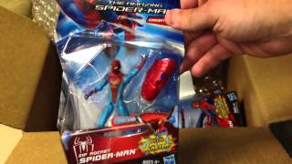 Unboxing from Big Bad Toy Store. The Amazing Spiderman Movie