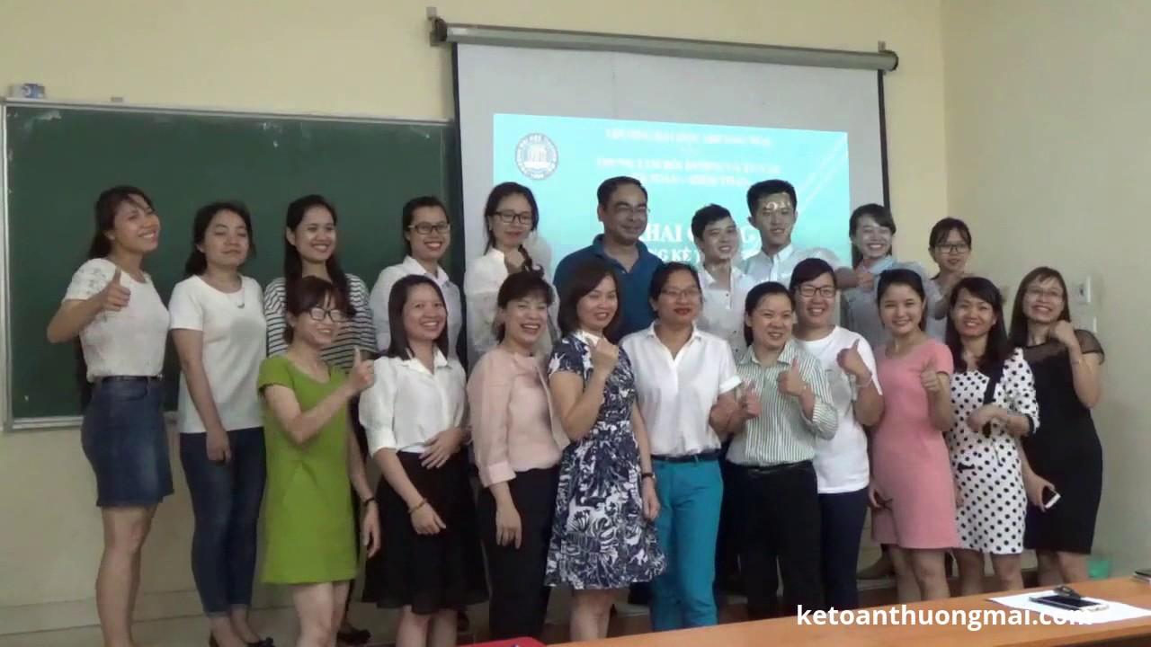 Khai giảng khóa học kế toán trưởng ở tại Hà Nội chỉ 2,5tr