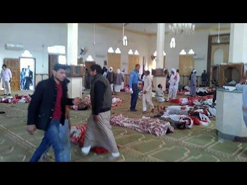 Egypte: attaque sans précédent dans une mosquée au Sinaï