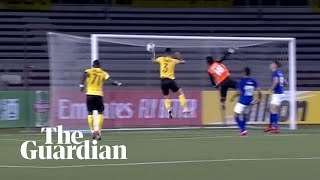 Hand Of God: Maradona-style Handball Goal Goes Unnoticed In Afc Cup