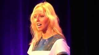 Katarina Visnevska & Zak Fox Jablow at TEDxNaperville